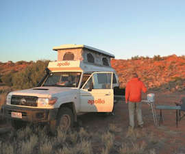 2 Berth 4WD Trailfinder Camper