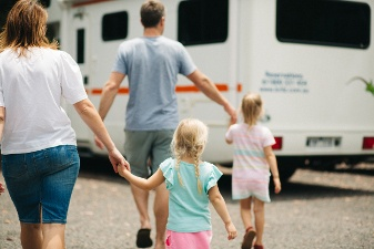 Family-friendly Frontier Campervan from Britz Australia