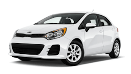 Budget Kia Rio Automatic Car Rental
