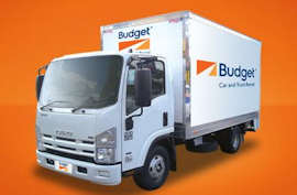 Isuzu Moving Van from Budget Van and Truck Hire