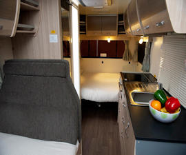 Dining in Deluxe from Cruisin Motorhomes