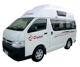 Cruisin Motorhomes Hi-Top Campervan Hire in Australia
