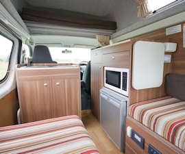 HiTop interior from Cruisin Motorhomes