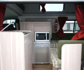 2+1 Hi-Top Camper Interior