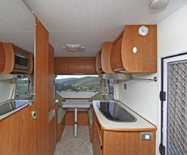 Superbly equipped 2 Berth motorhome.