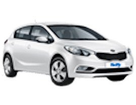 Dollar Kia Cerato Car Rental with Manual Transmission