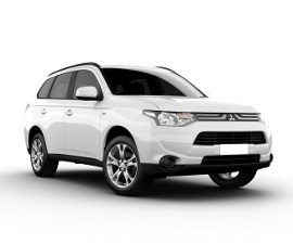 Dollar Mitsubishi Outlander All Wheel Drive Rental