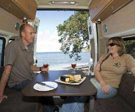 enviro campers 2 berth campervan hire in australia enviro campers vehicle guide. Black Bedroom Furniture Sets. Home Design Ideas