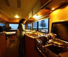 enviro campers 4 berth motorhome hire in australia enviro campers vehicle guide. Black Bedroom Furniture Sets. Home Design Ideas