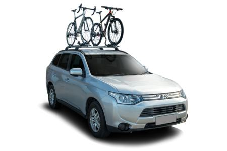 Europcar All-Wheel-Drive with bike carrier Rental