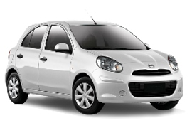 Europcar Nissan Micra 5 Door Car Rental