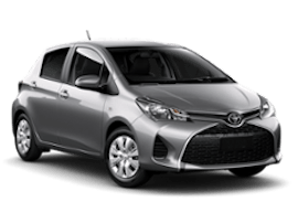 Europcar Toyota Yaris Car Rental