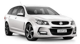 Europcar Holden Commodore Sv6 Wagon Hire