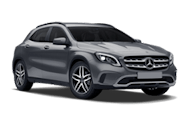 Europcar Mercedes Benz GLA 180 Rental Car