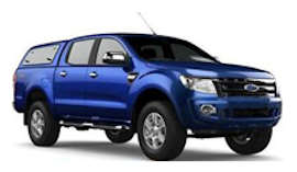 Firefly Ford Ranger 4WD Car Hire