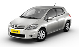 Hertz Toyota Corolla Car hire with Manual Transmission
