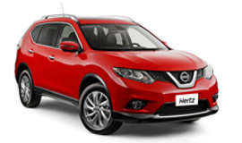 Hertz Nissan X Trail SUV Car Hire