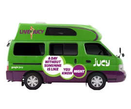 Jucy 4 berth Condo campervan rental