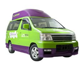 Jucy 4 Berth Grande Campervan Hire in Australia