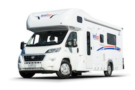 Let's Go Motorhomes - 4 Berth Campervan Hire