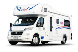 Let's Go Motorhomes - 6 Berth Campervan Hire