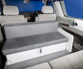 Comfy seats in Roamer from Lucky Car and Campervan Australia