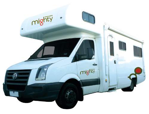 Double Up from Mighty Campervan Hire Australia