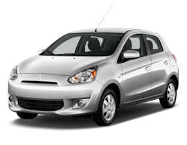 Alamo Mitsubishi Mirage - 3 Door Car Rental