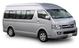 Redspot Toyota Commuter Bus Hire