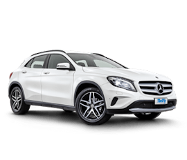 Mercedes SUV GLA180 Car Hire