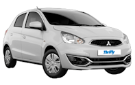 Thrifty Mitsubishi Mirage Car hire