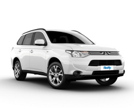 Thrifty Mitsubishi Outlander All Wheel Drive Rental