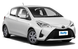 Thrifty Toyota Yaris Auto Car Rental