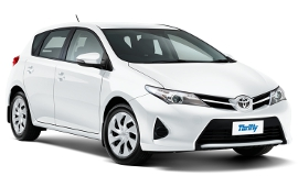 Thrifty Toyota Corolla Car Rental in New Zealand