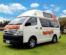 Tab 5 Berth Motorhome Hire in Australia