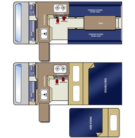 Day and Night Floor Plan