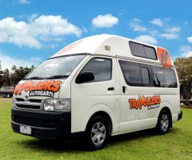 Tab 3 Berth Motorhome Hire in New Zealand