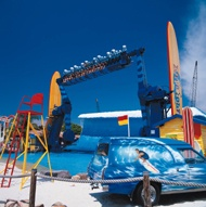 Dreamworld - WipeOut Water Ride